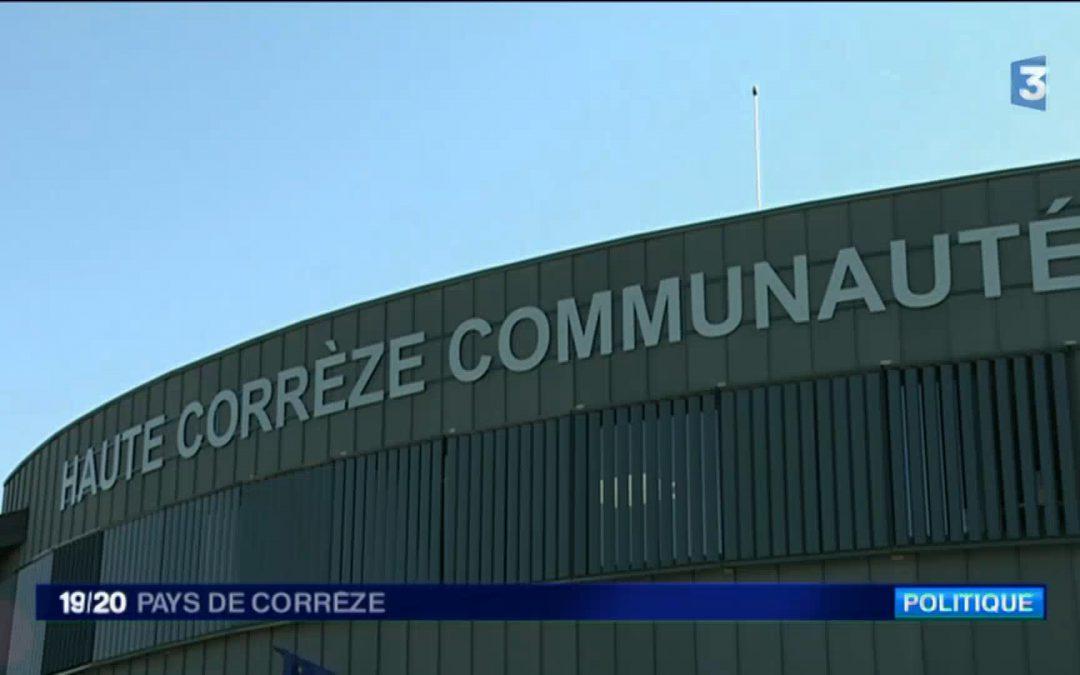 France 3 consacre un reportage à Haute-Corrèze Communauté