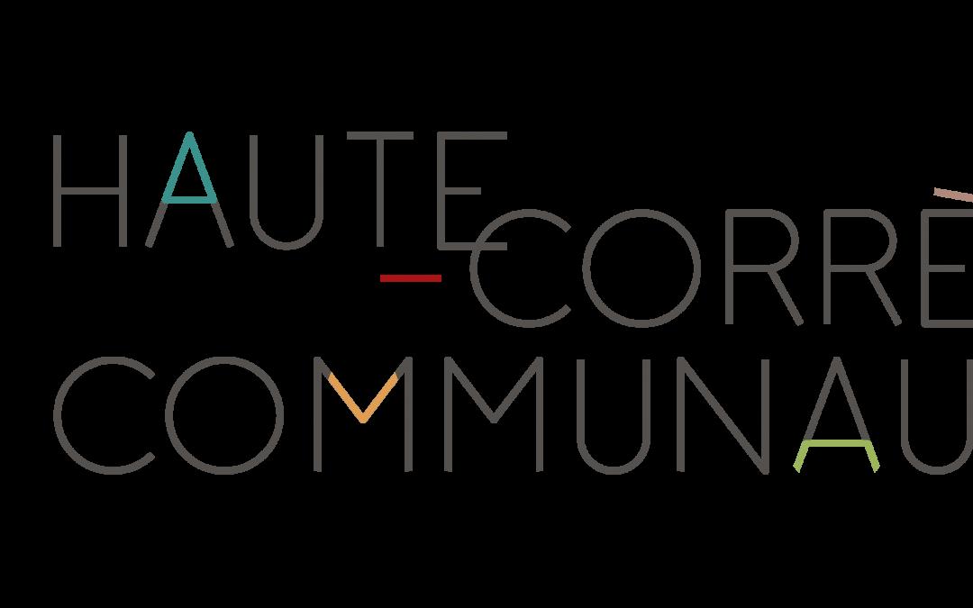 Le logo de Haute-Corrèze Communauté évolue
