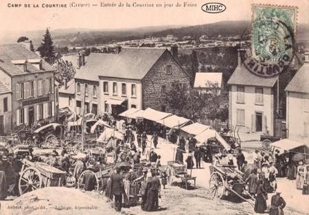 Diaporama commenté- La Courtine il y a 100 ans