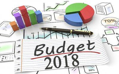 Les perspectives budgétaires 2018