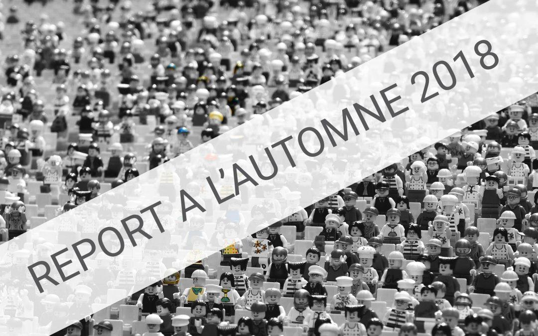 REPORT DE DATE : Rencontres de la culture et du patrimoine