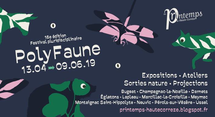 """Printemps Haute-Corrèze """"Drôles de petites bêtes"""" (Médiathèque Ussel)"""