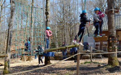 Une nouvelle ligne de vie au parc acrobatique Diège Aventures