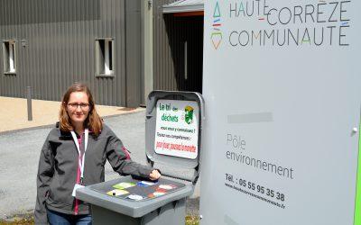 Une ambassadrice du tri pour Haute-Corrèze Communauté