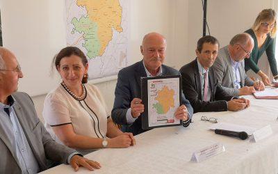 Signature du contrat de territoire pour la Haute-Corrèze