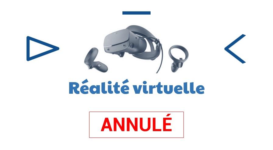 ATELIER NUMÉRIQUE CRÉATIF – Réalité virtuelle (Ussel)
