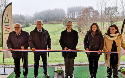 Inauguration du golf intercommunal de Neuvic