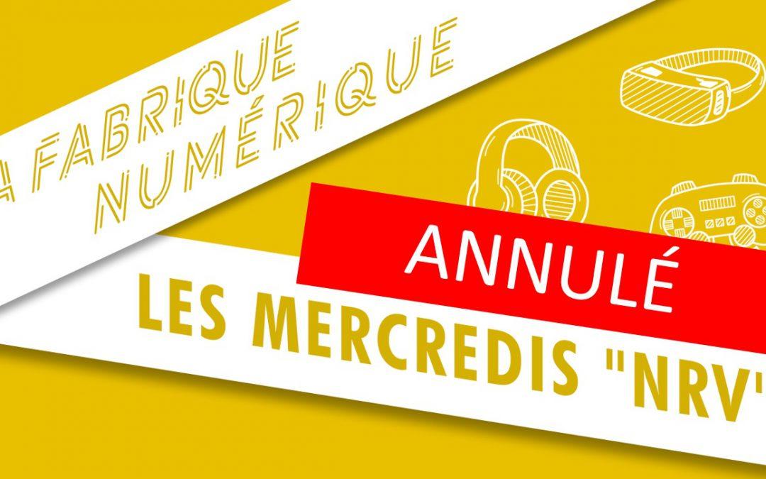 "Les mercredis ""NRV"" | 25 mars"