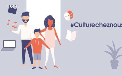 #CultureChezNous