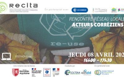 Rencontre Réseau Locale RECITA – Acteurs Corréziens