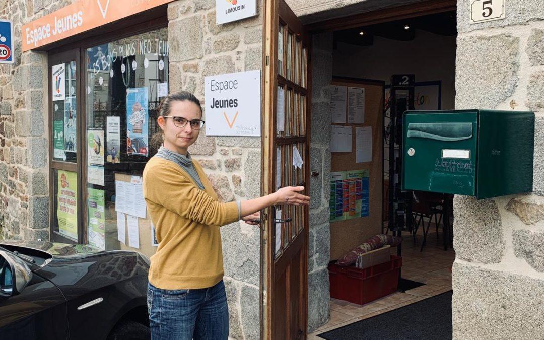 Le Point Information Jeunesse à Neuvic est ouvert