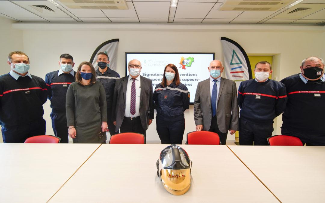Soutenir l'exercice des sapeurs-pompiers volontaires