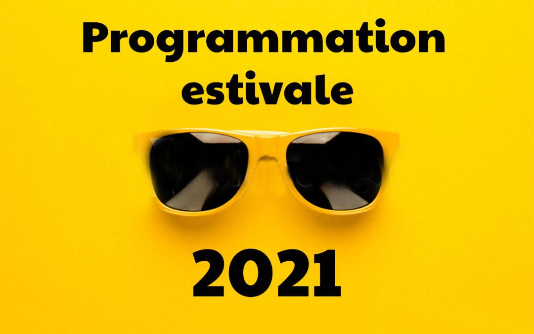 Programmation estivale
