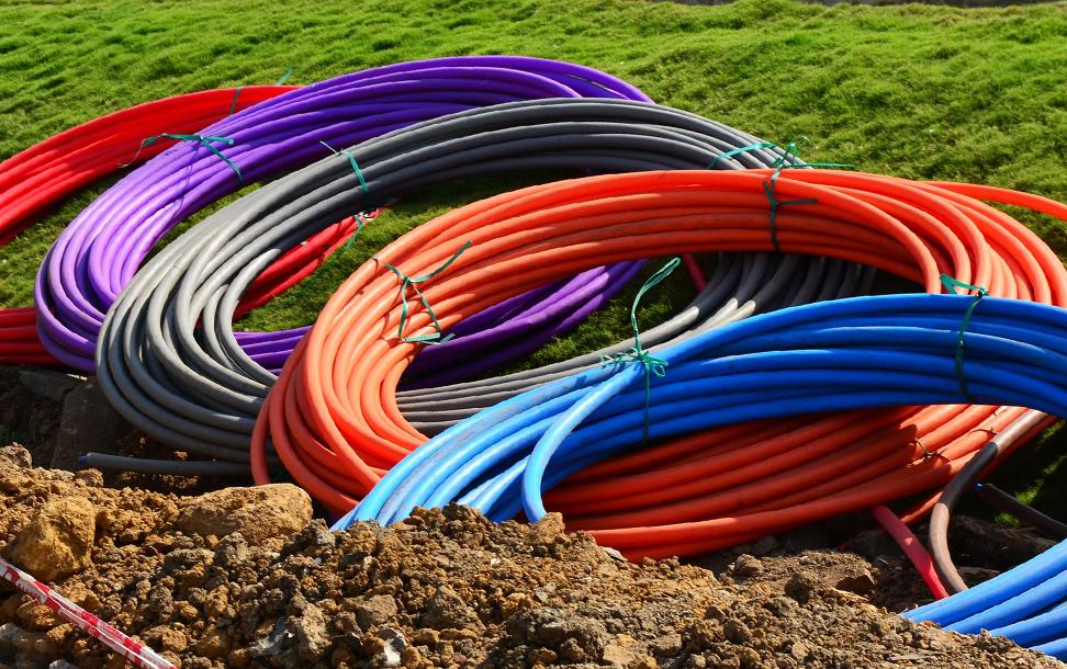 cables couleur fibre