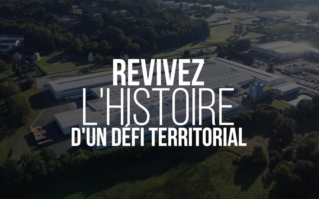 """""""Inverser la tendance"""", la mini-série sur le sauvetage de l'entreprise ALSAPAN à La Courtine"""